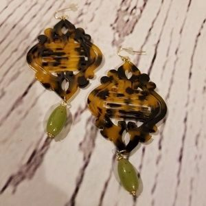 Chicos Tortoiseshell earrings
